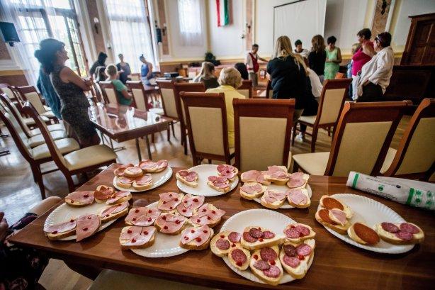 Sztrájk a Kispesti Polgármesteri Hivatalban